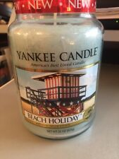 Yankee Candle Scented 22oz Large Jar Variety 33 off Beach Holiday
