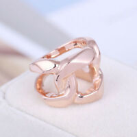 Michael Kors Rose Gold Tone Special Shape Ring Size 7
