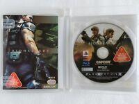 Biohazard Resident Evil 5 PS3 CAPCOM Sony Playstation 3 From Japan