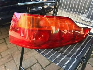 Audi Q7 06-09 Orange Indicator Rear Tail Lights Lamps left and right OEM