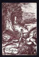 112818 AK Studentika 1907 Gruss vom Fuchsfest Geestmünde Verlag : ohne