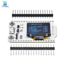 "ESP32 0.96"" Dual-core Blue OLED Display Bluetooth WiFi Kit 32 Module for Arduino"