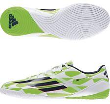 Adidas f10 indoor Men's Size 11 1/2 white rich blue green