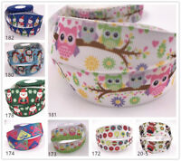 Wholesale! 2/10yds 1'' (25mm) printed grosgrain Christmas ribbon Hair bow sewing