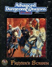 FIGHTER'S SCREEN EXC! 9457 Dungeons Dragons Class Accessory AD&D D&D TSR Players