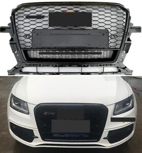 RSQ5 Style Grille Grill Chrome Frame Chrome Ring For 2013 13 14 15 16 17 Audi Q5