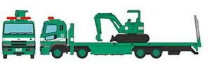 Tomytec Truck-Collection, Plattform-Truck Excavatrice, Vert, Voie N Modèle 1 :