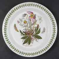 Portmeirion BOTANIC GARDEN Christmas Rose Dinner Plate S4697623G3