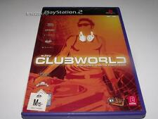 eJay Clubworld PS2 PAL Preloved *Complete*