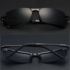 HD Polarized Sunglasses Black Driving Pilot Glasses UV400 Outdoor Sports Eyewear