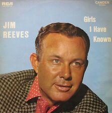 JIM REEVES - GIRLS I HAVE KNOWN - LP
