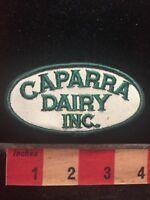 Vtg CAPPARA DAIRY INC ( Milk Cheese Etc. ) Advertising / Uniform Patch 70E0