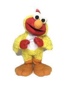 Vintage Chicken Dance Elmo 2001 Singing & Dancing 35cm Toy Sesame Street 2001
