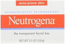 4 Pack - Neutrogena Acne Prone Skin Formula Facial Bar 3.50oz Each