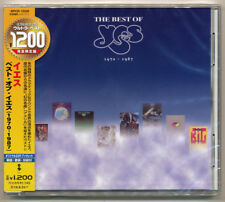"Yes - The Best Of Yes (1970-1987) Limited Japan CD incl. ""America"" NEW Sold Out!"