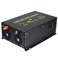 EMC CE approved 12V/24V to 240V 50HZ 6000W Off Grid Pure Sine Wave Inverter