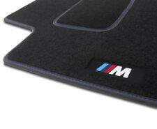 4 TAPIS SOL BMW SERIE 5 E60 E61 2003-2010 530i 535d 545 MOQUETTE NOIR SUR MESURE