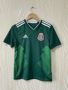 MEXICO 2018 HOME FOOTBALL SHIRT SOCCER JERSEY ADIDAS BQ4696 sz L BOYS