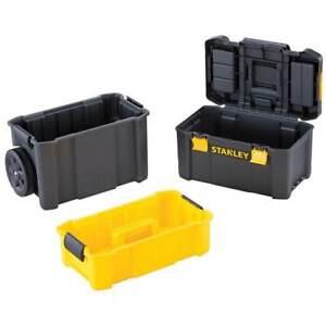 Stanley STST18631 44 lbs Capacity 3-in-1 Heavy Duty Essential Rolling Workshop