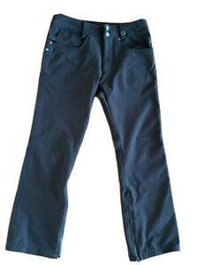 686 Snowboard Pants Mens Small Black Authentic Collection Infidry Thermal S