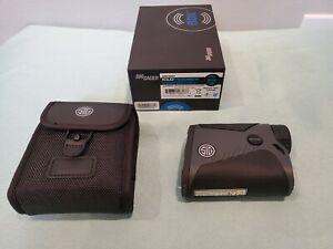 SIG SAUER KILO 1400BDX 6x20mm Laser Range Finder - BRAND NEW 6x20mm 3R Digital