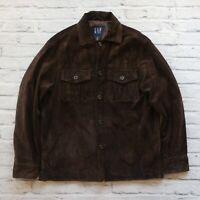 Vintage GAP Suede Jacket Leather 00s