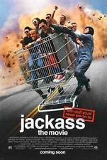 JACKASS: THE MOVIE Movie POSTER 27x40 C Johnny Knoxville Bam Margera Steve-O