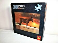 Trefl 1000 Piece 3D Puzzle - Stallion at Sunset - With Visual Echo Technology