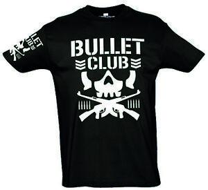 Bullet Club New Japan Pro Wrestling T Shirt / Größe S - 5XL