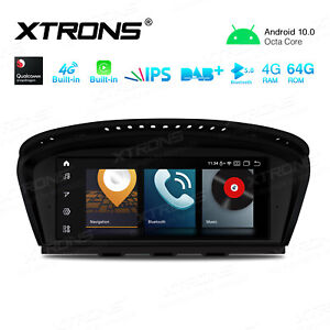 "8.8"" Android 10.0 Car Stereo GPS Radio Head Unit For BMW E90/91/92/E63/64 CCC"