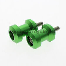 FXCNC CNC Swingarm Spool Slider 10mm for kawasaki ZX-14 Monster Energy ZX-14R