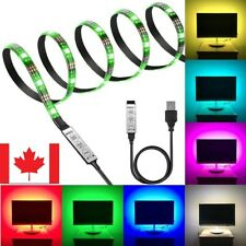 USB LED Strip 5050 Waterproof RGB LED Light Flexible Remote For TV Background