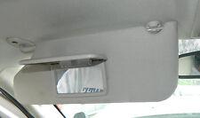 2005 06 07 08 09 10 Jeep grand Cherokee Sun Visor Set Lighted Khaki warranty oem