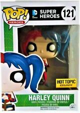 FUNKO POP DC HARLEY QUINN HOT TOPIC EXCLUSIVE 121