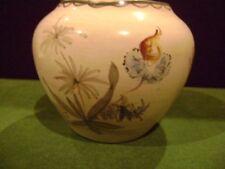 VASE Germany ART DECO Hand Painted Soft FLORAL Porcelain Antique