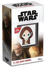 Chibi™ Star Wars™ Obi-Wan Kenobi™, 1 Oz Silbermünze, 2021