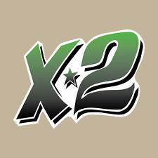 Kawasaki X2 Jet Ski Decal