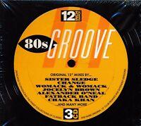 12 Inch Dance 80s Groove CD NEW Sister Sledge Womack Chaka Khan Rufus