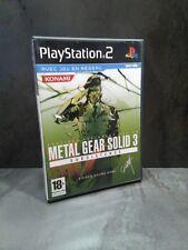 PS2 : METAL GEAR SOLID 3 : Subsistence - FR - Très Bon Etat
