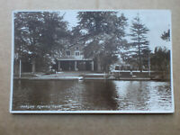 MARLOW ROWING CLUB near Maidenhead Vintage Kingsway Real Photo RP Postcard WHS