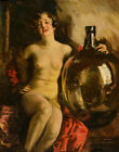Howard Chandler Christy Nude With A Jug Canvas Print 16 x 20  # 9137