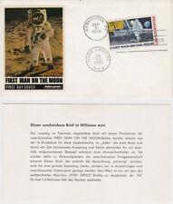 FDC First Men on the Moon ,09.09.1969, ***** SELTEN *****Mond Landung 20.07.1969