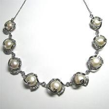 Pearl White Gold Beauty Fine Necklaces & Pendants