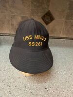 VINTAGE US Navy USS MINGO SS261 NORTHSTAR Snapback Cap / Hat Adult One Size