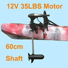 35lb Thurst Kayak Inflatable Boat Trolling Electric 12V Motor 0~90° Tilt