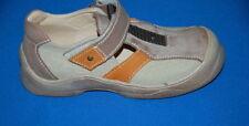 Scarpe casual in pelle beige per bambini dai 2 ai 16 anni
