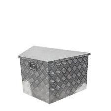 Alu-Staubox für V-Deichsel 864 x 406 x 482 x 457 mm, für Anhänger, Werkzeugkiste
