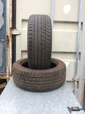 TWO 225-50-17 GOODYEAR PART WORN TYRES