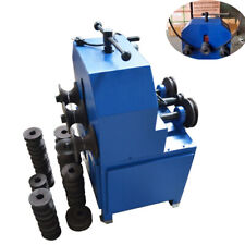 110v Electric Pipe Bender Roller 9roundsquare Dies Tube Bending Machine 1400rpm