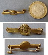 Petite broche en FIX ancien Art Nouveau vers 1900 signé BECKER brooch